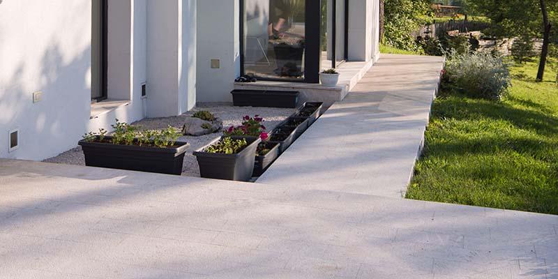 Naturstein Terrassengestaltung